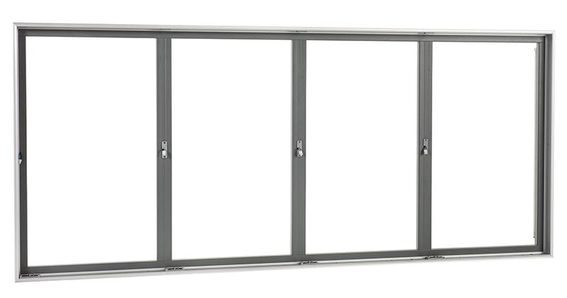 Стеклянные двери с рамой для морозильных шкафов