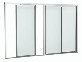 Раздвижные стеклянные двери для охлаждающих шкафов